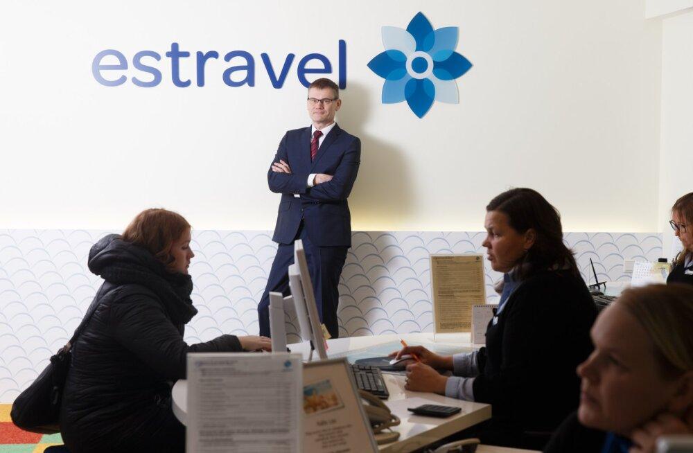 Estravel ostis ligi poole konkureeriva Wrisi aktsiatest