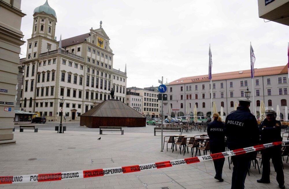 Saksamaal evakueeriti pommiähvarduste tõttu kuus raekoda