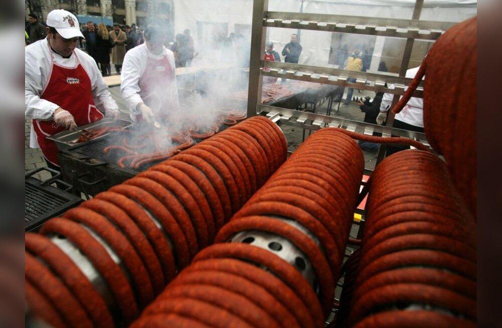 Kriisiajal vahetatakse šašlõkk grillvorsti vastu