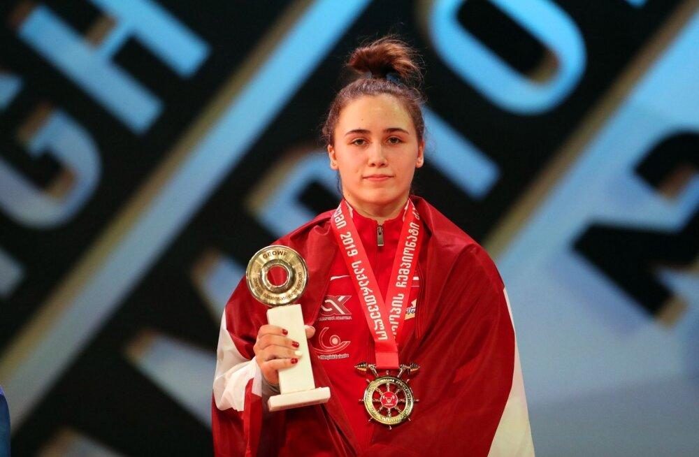 Nüüdseks kahekordne Euroopa meister Rebeka Koha.