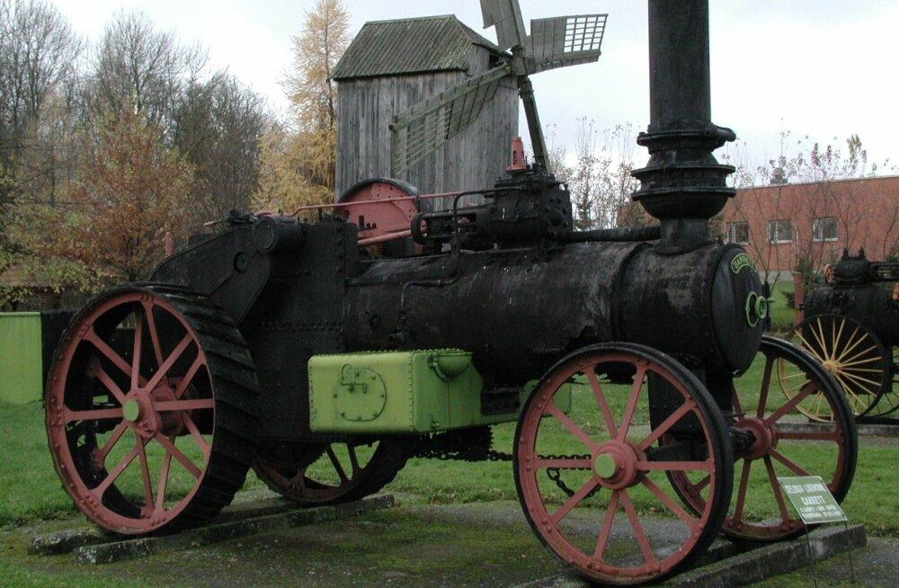 1923. aastast pärineva Garreti aurukatla annetas Eesti Põllumajandus- muuseumile Jaan Parki kasutütar Hilma Ots 1991. aastal.