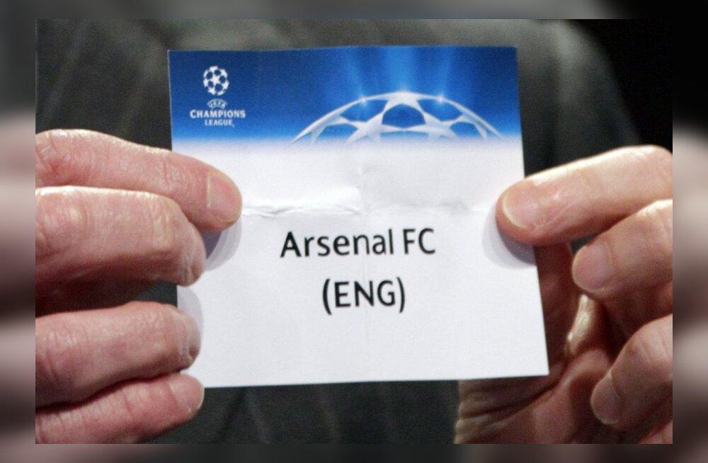 Meistrite liiga loos viis kokku Besiktase ja Arsenali