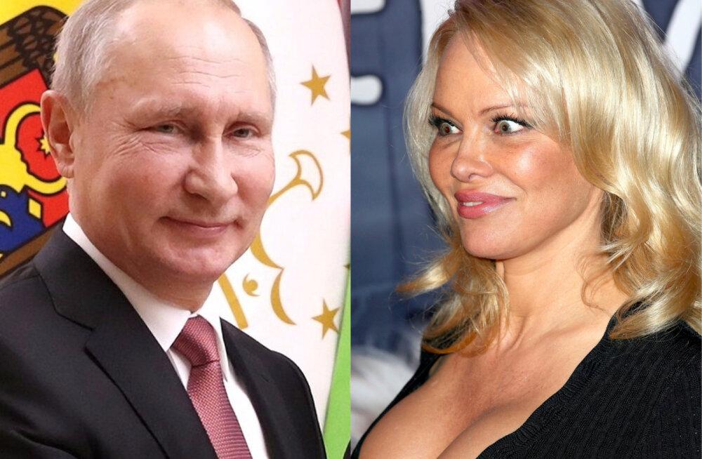 Kas tõesti? Pamela Anderson vihjas võimalikele romantilistele suhetele Vladimir Putiniga