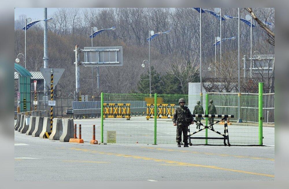 Lõuna-Korea ähvardas Kaesongis asuvate kodanike kaitseks sõjategevusega