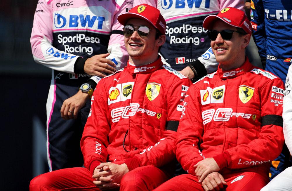 Vettel noorest tiimikaaslasest: meie omavaheline võitlus tuleb väga tihe
