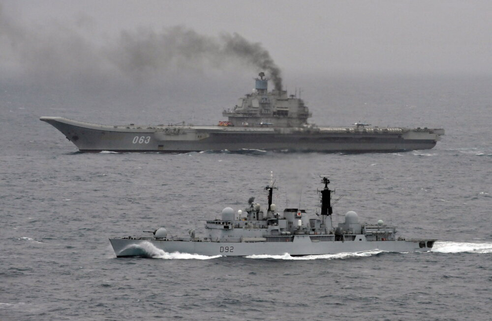 Venemaa kavandab sõjalaevastiku lipulaeva Admiral Kuznetsov Vahemerele saatmist