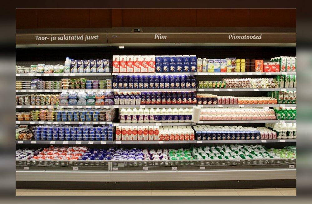 Kuidas mõjusid Venemaa sanktsioonid Eesti piima ja piimatoodete ekspordile?