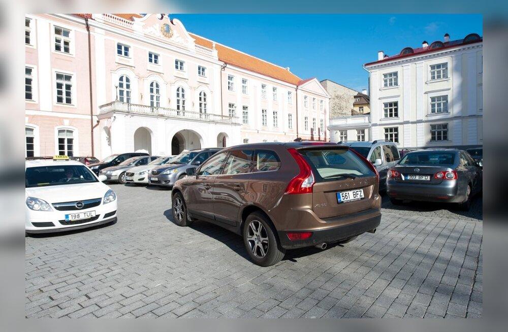 Riigikogu liikmete maasturid ja nelikveolised autod