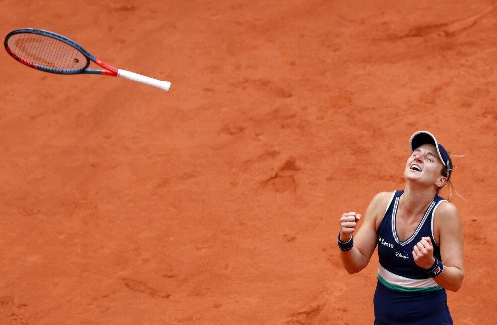 Nadia Podoroska reaktsioon üllatusvõidule