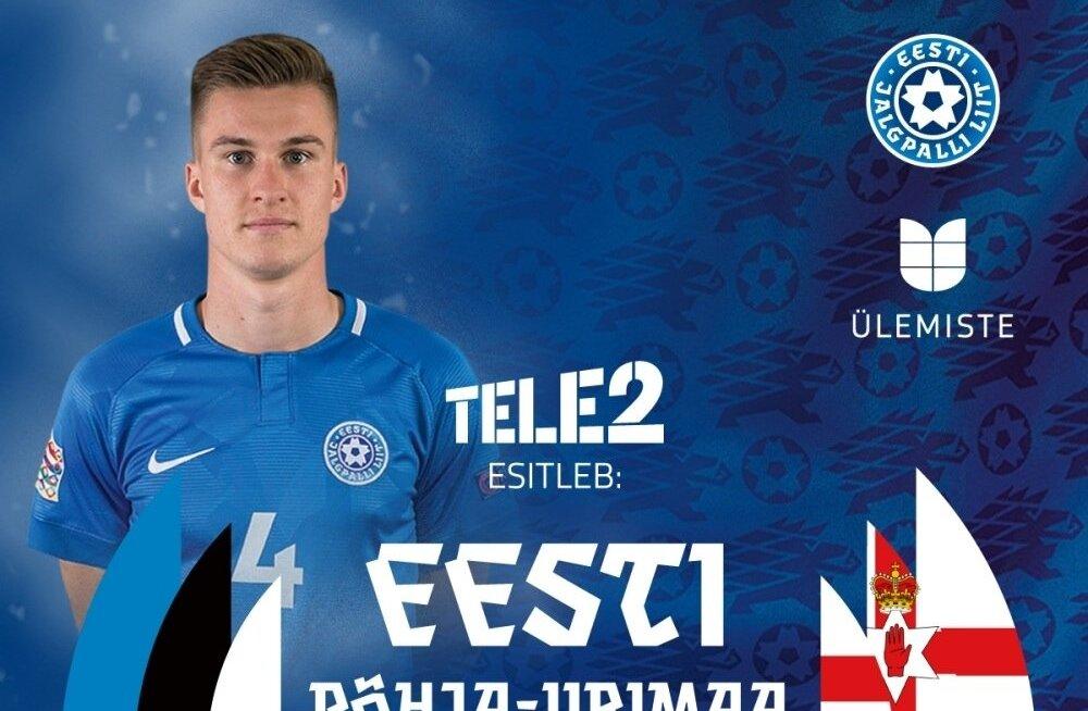 Eesti vs Põhja-Iirimaa.