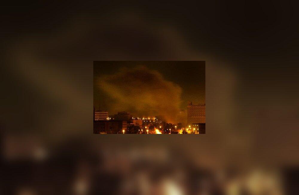 Iraak - õhurünnakud