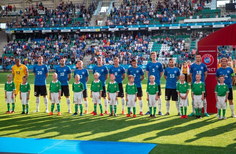 Eesti - Põhja-Iirimaa jalgpallikoondiste EM-valikmäng