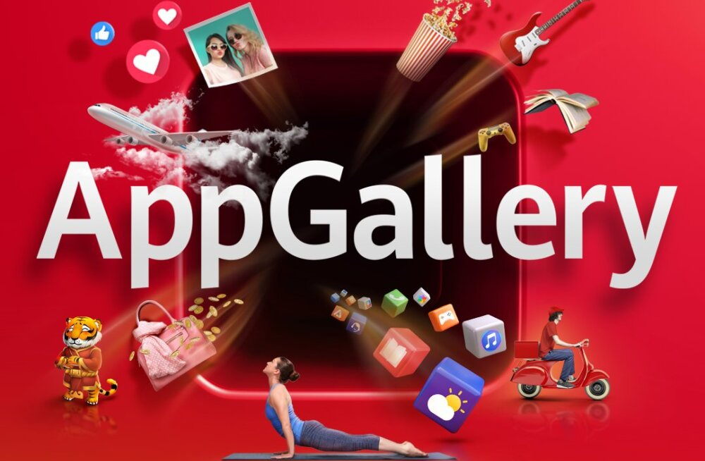 Huawei AppGallery – isikupärasta oma telefon just sulle sobivaks