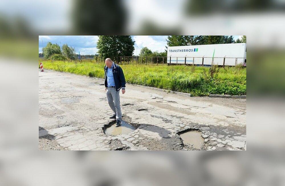 """Кошмар на ласнамяэской улице. Как """"одна российская беда"""" душит местный бизнес"""