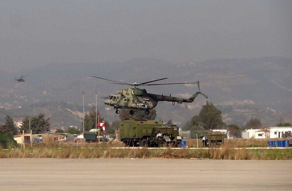 """TASS: Venemaa katsetas Süürias suure kiirusega """"sõjalist internetti"""""""