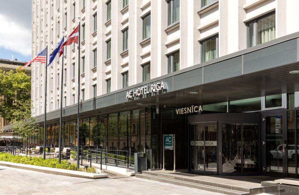 Marriott hotell Riias alustab suve uste avamisega