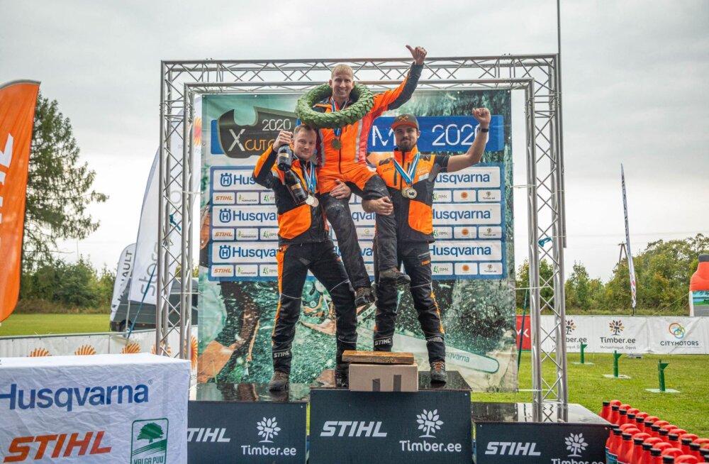Eesti meistriks raiespordis tuli Janno Traks