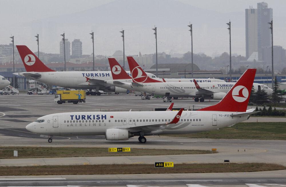 Turkish Airlines планирует с 15 августа восстановить прямые рейсы из Таллинна в Стамбул