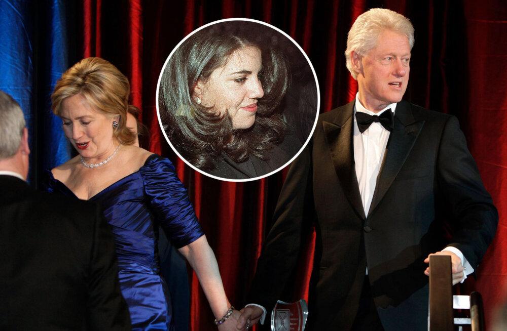 Hingelt ära! Monica Lewinsky avaldab, kuidas sai kahtlane plekk tema kleidile ja mis tegelikult Valge Maja vetsus juhtus