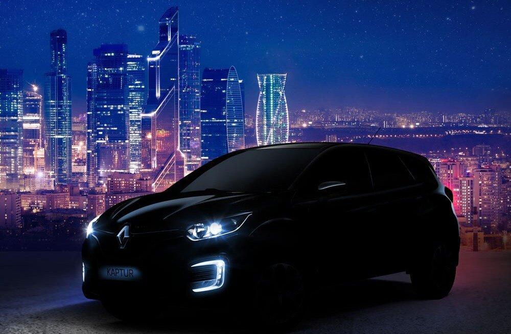 Renault vahetab Venemaal juhti ja toob turule Kaptur 4×4 vene variandi