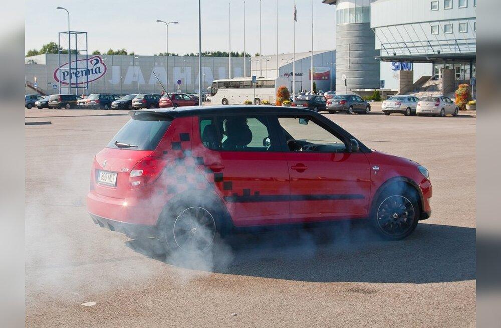 Škoda Fabia Monte Carlo oskab ulakas olla küll.