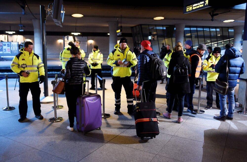 Rootslane põhjustas oma välgumihkliga Kopenhaageni lennujaamas paraja kaose