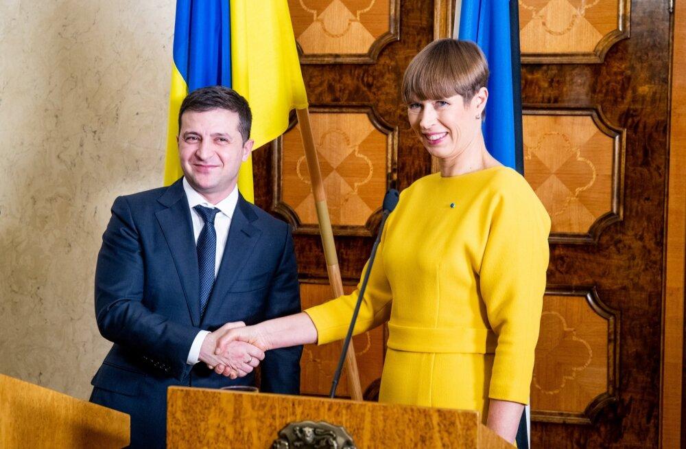 Kersti Kaljulaid kohtub Ukraina presidendiga