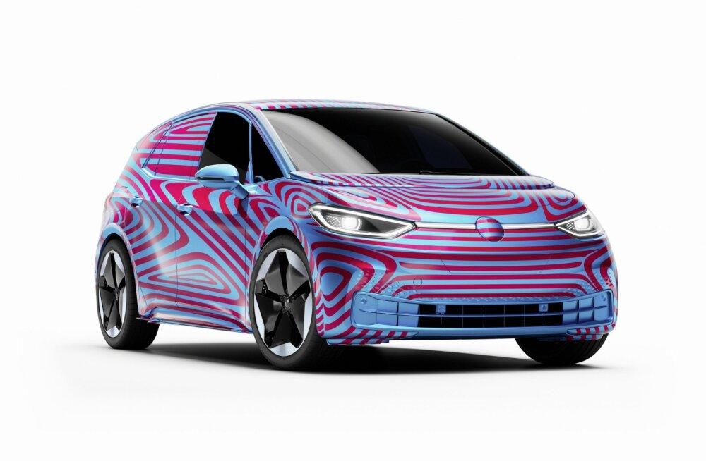 Volkswagen esitles uude elektriseeriasse kuuluvat ID.3 sõiduautot