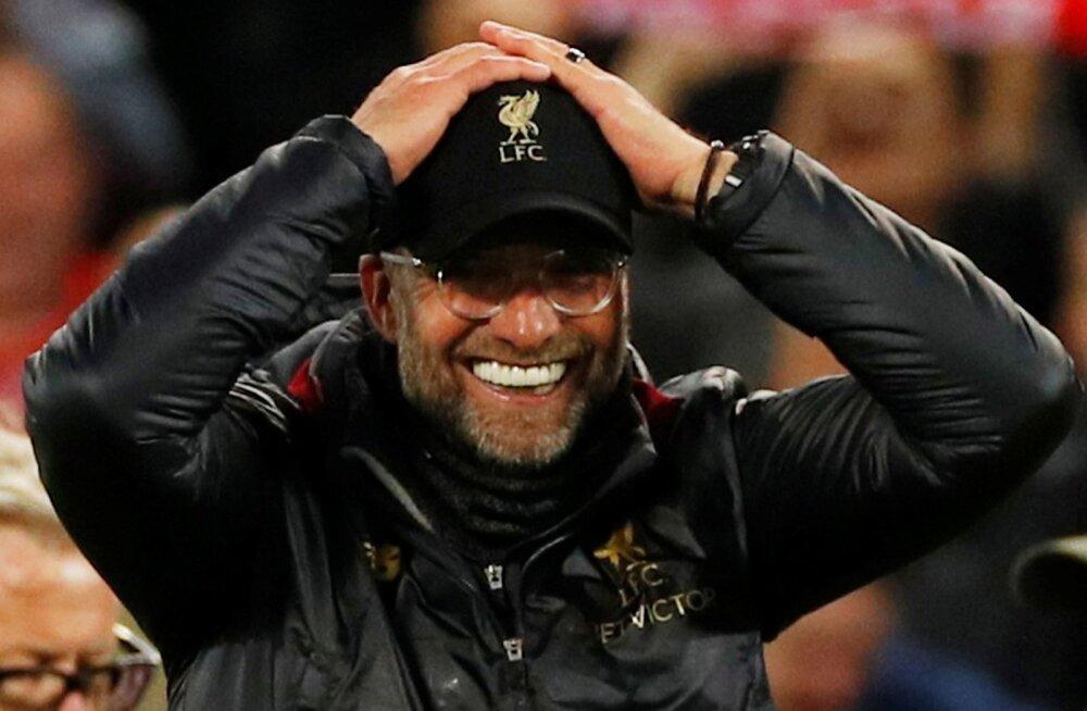 Võtab peast kinni hoidma küll! Statistikaagentuurid hindasid kordusmängu eel Liverpooli edasipääsutõenäosuseks 4%.