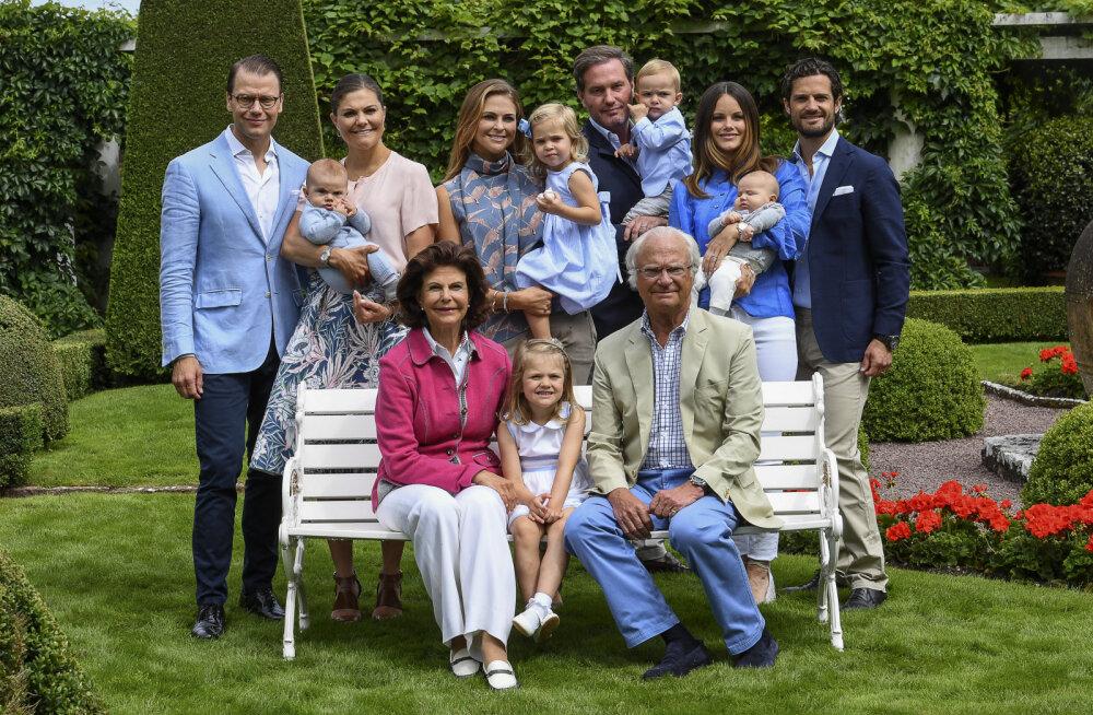 Kannapööre Rootsi kuningaperes: Carl XVI Gustafi viis lapselast jäid oma kuninglikust staatusest ilma