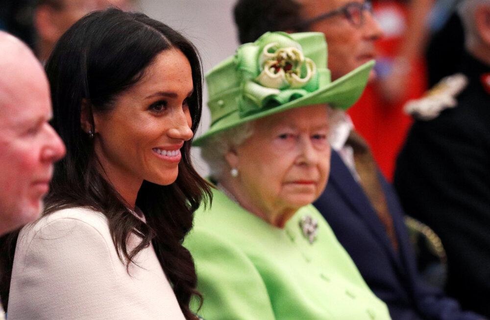 Tühi loba jätta! Kuninganna on keelanud Meghanil kõnelemast ühel tähtsal teemal