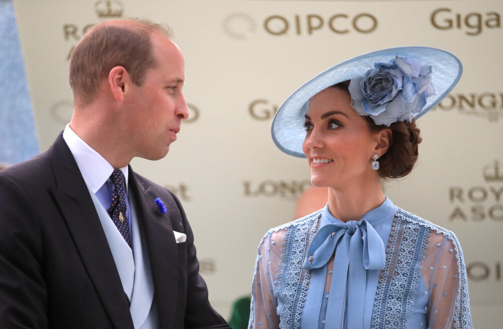 Prints William ja Kate Middleton