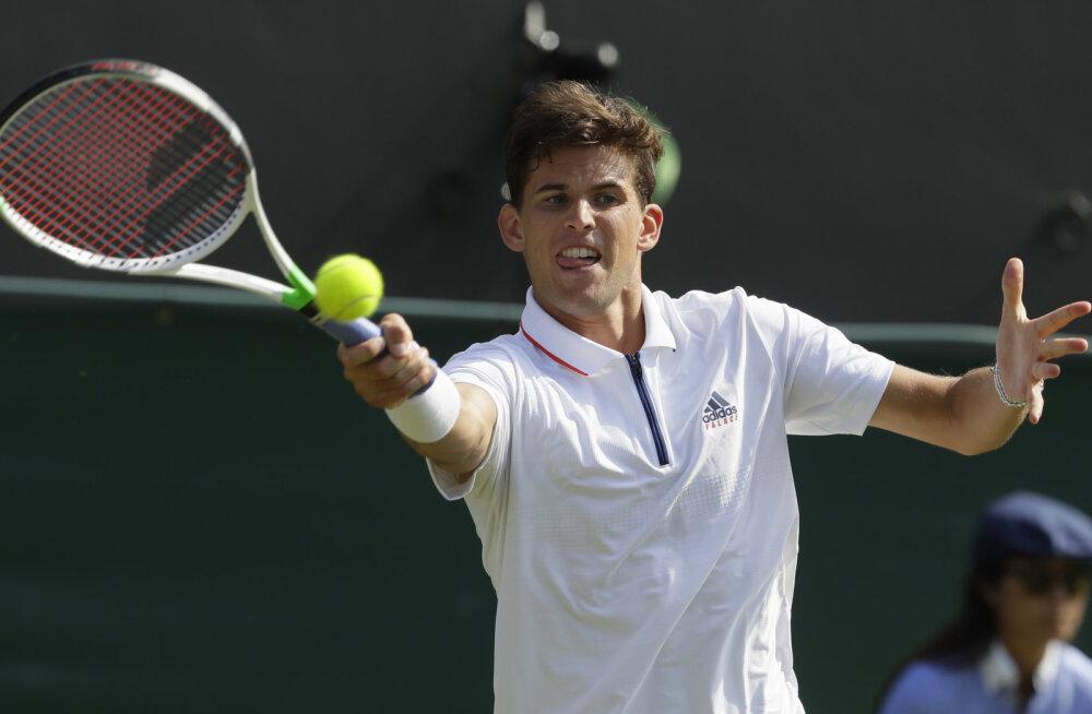 Prantsusmaa lahtiste finalist piirdus Wimbledonis avaringiga