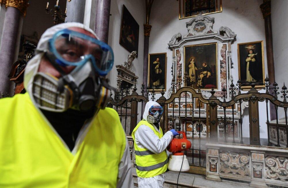 Itaalias on hetkel Euroopa suurim nakkuskolle.