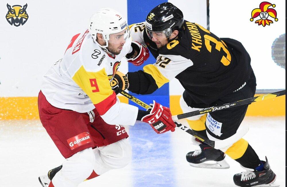 JÕULUKINGITUS: Osta piletid maailma hoki tippliiga KHLi kohtumistele Tallinnas ja näe staare oma silmaga!