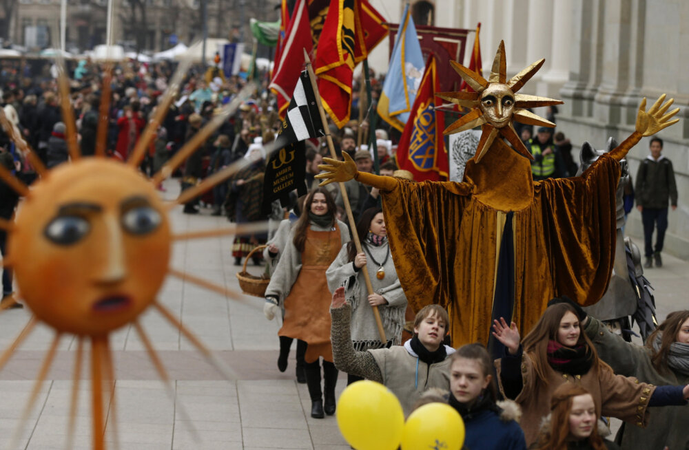 ФОТО: В Вильнюсе начинается традиционная ярмарка Казюкаса