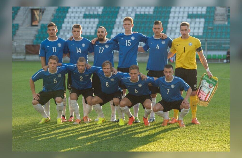 Eesti - Bulgaaria U21 EM valikmäng jalgpallis