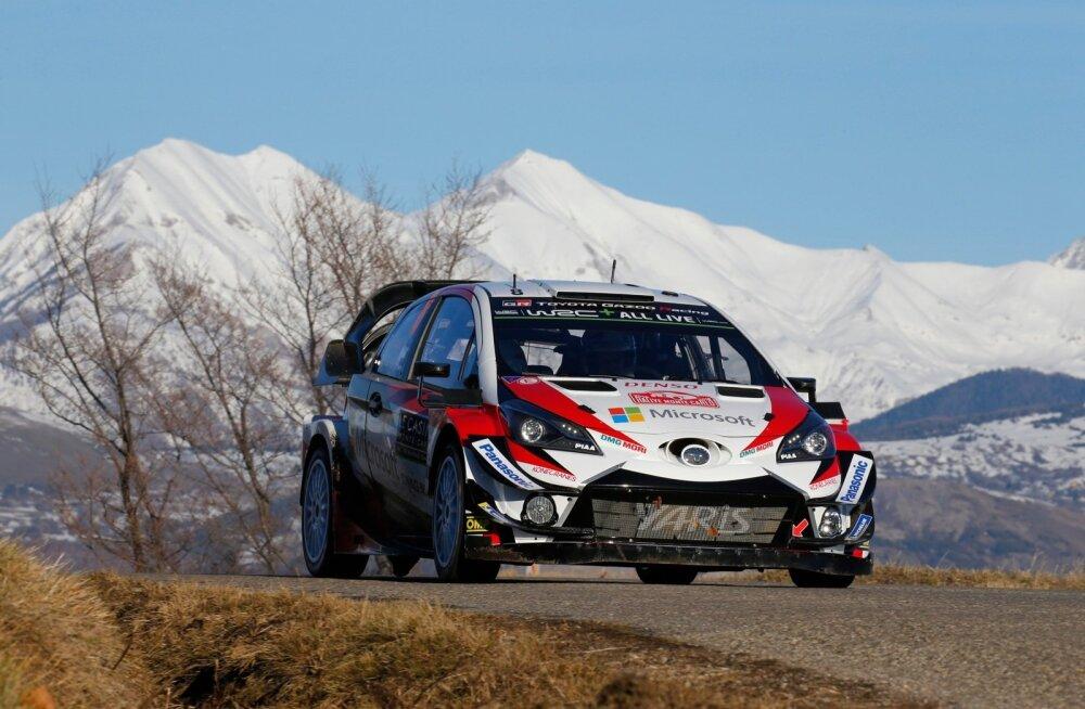 Ott Tänaku ja Martin Järveoja jaoks algab täna Toyota roolis uus MM-seiklus.