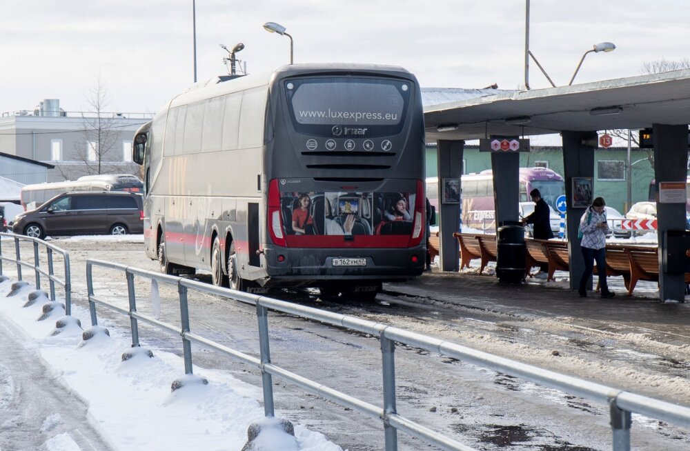 Lux Express временно сокращает количество отправлений на междугородних маршрутах