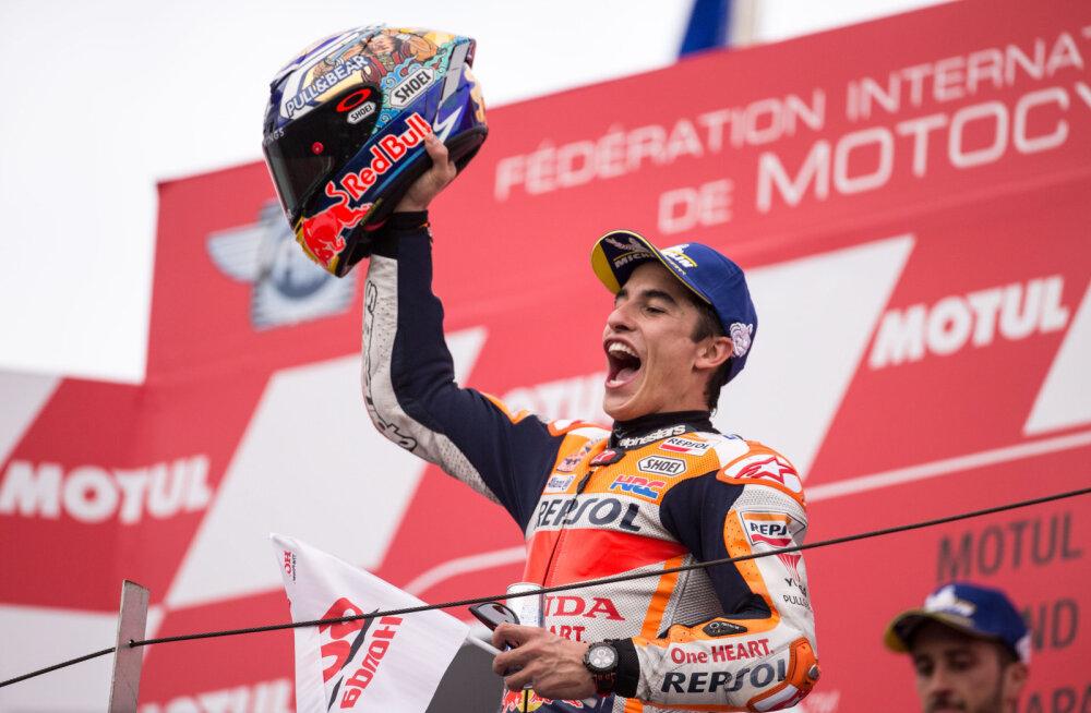 Marc Marquez teenis hooaja kümnenda etapivõidu