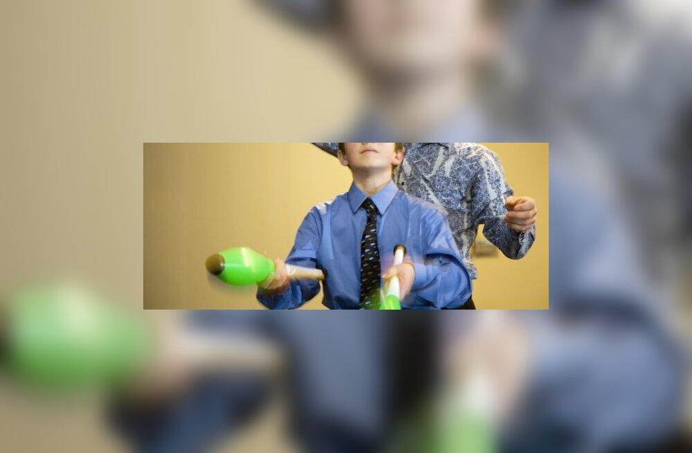Žongleerimine soodustab ajutegevust