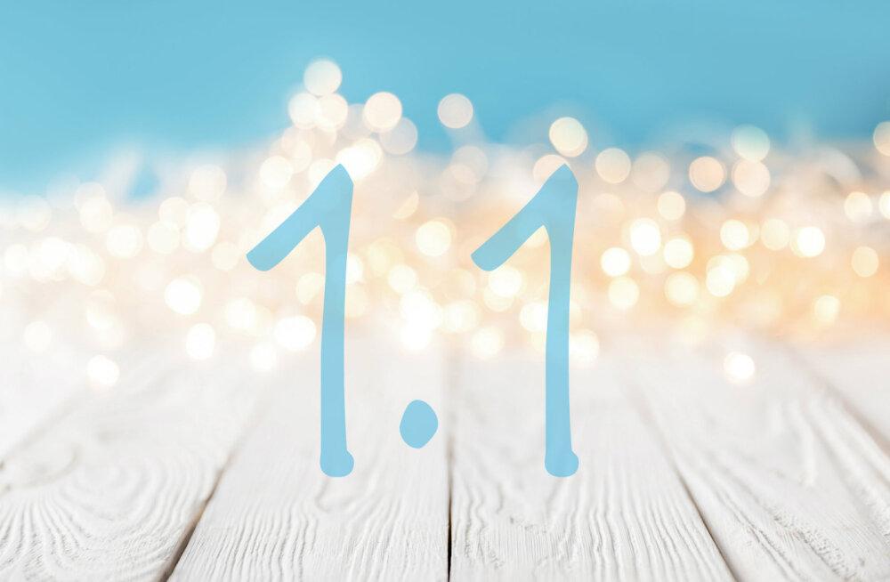 Täna on 1.01! Milline on selle kuupäeva maagiline ja numeroloogiline tähendus?