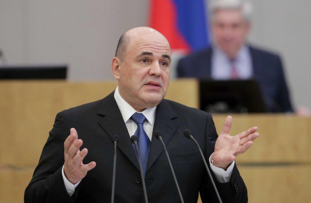 Putini ametisse kinnitatud uus peaminister Mišustin lubas digitaalset läbimurret