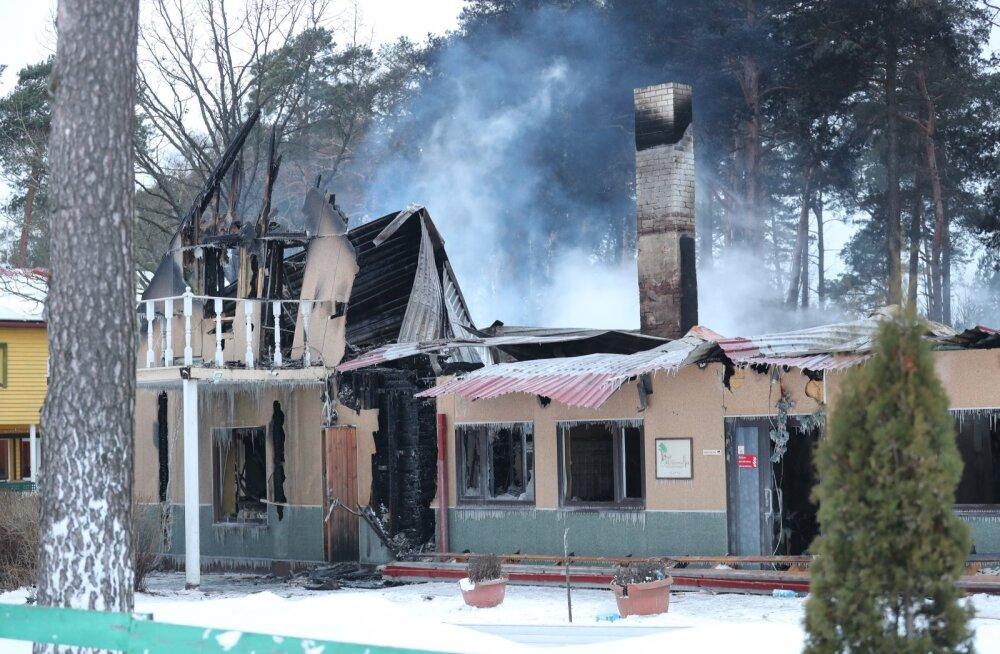 Спасательный департамент — о пожаре в доме попечения: ранее там были нарушения пожаробезопасности, но они были ликвидированы