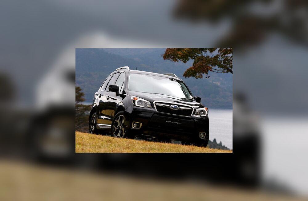 Kõrvalteede Kuningas 2013 on Subaru Forester