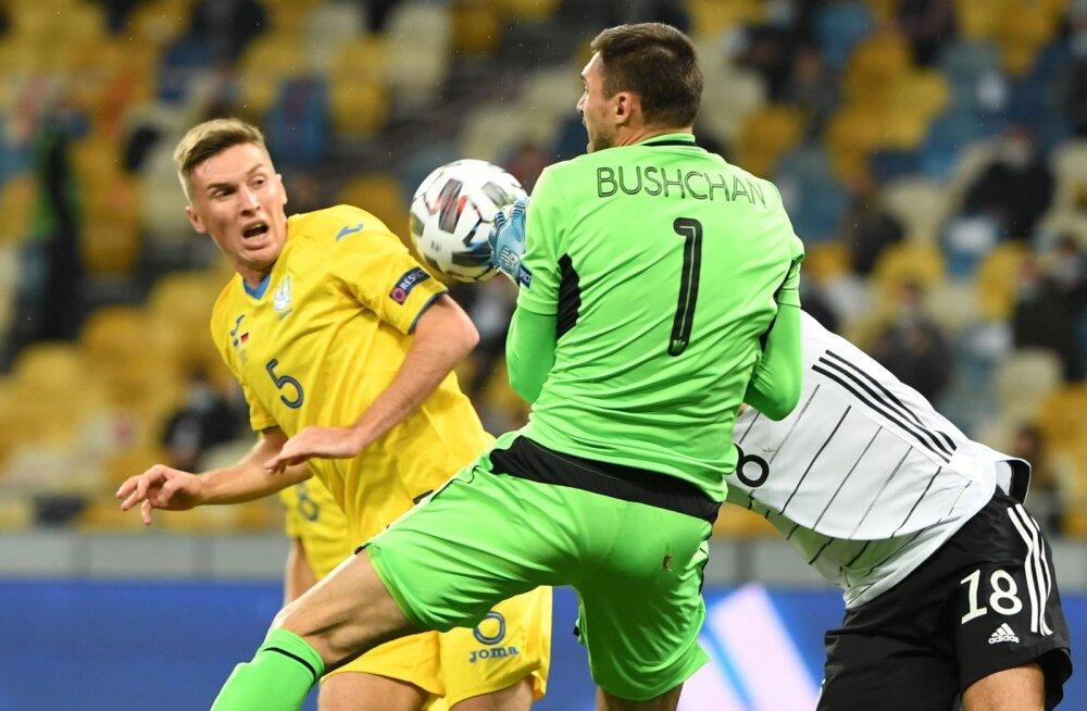 Германия победила Украину, Латвия не справилась с Фарерами