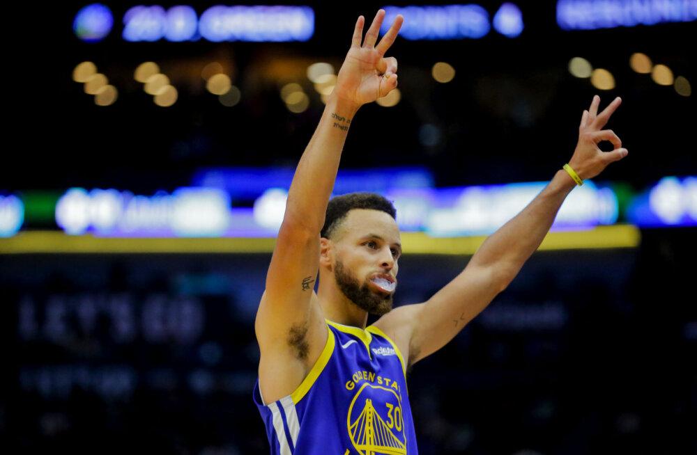 VIDEO | Golden State Warriors suutis kolmandal katsel võiduarve avada