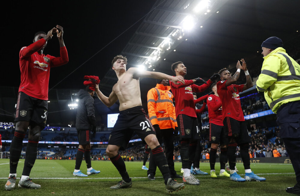 Pep Guardiola avaldas, mis Manchester Unitedi vastu saatuslikuks sai