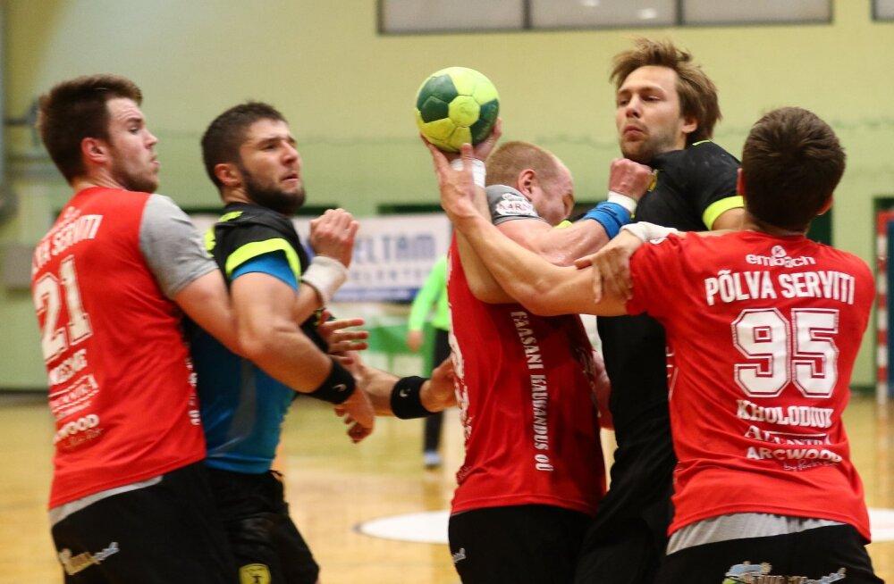 Käsipalli meistriliiga teine voor viib vastamisi mullused finalistid