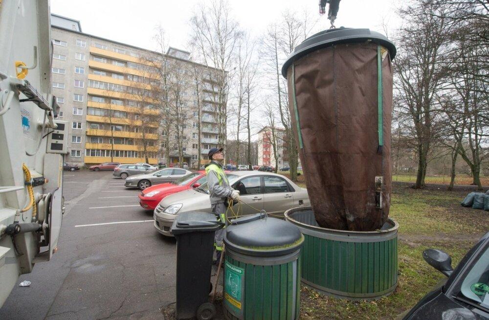 """""""С ними очень много проблем"""". Таллинн отказывается от договора со связанной с Сарапуу мусорной фирмой"""